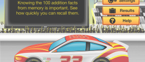 RE@L Raceway Math: Addition Facts