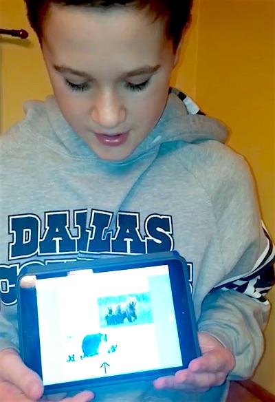 Gavin iPad
