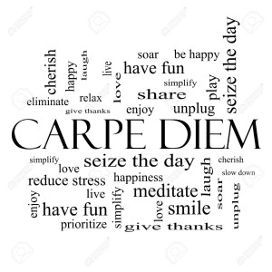 27323523-Carpe-Diem-Word-Cloud-Concept-in-black-and-white-with-great-terms-such-as-love-seize-the-day-and-mor-Stock-Photo