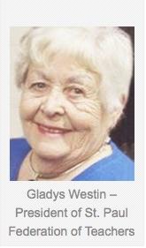 Gladys Westin caption